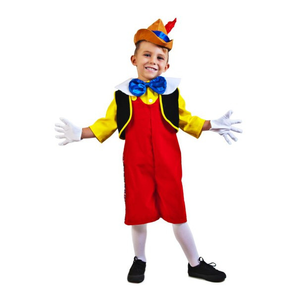Wooden Girl Pinocchio Puppets Toddler Costume