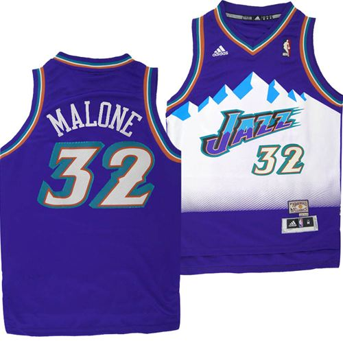 b9d3ce02 ... coupon code for utah jazz adidas nba karl malone 32 youth hardwood  classics swingman jersey purple