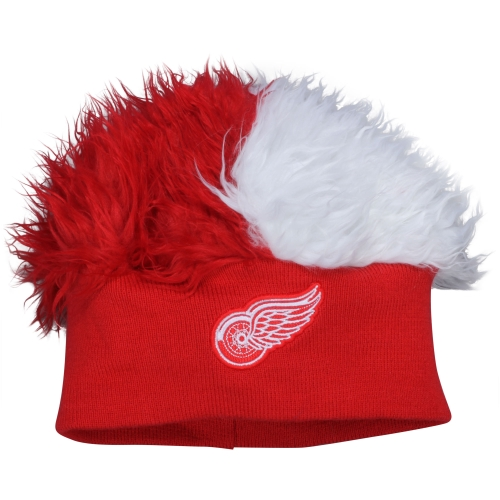 Detroit Red Wings Flair Hair Knit Hat - No Size