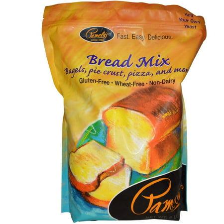 Pamela's Products Amazing Wheat Free & Gluten-free Bread Mix, 4-Pound Bag (Wheat Free Bread Mix)