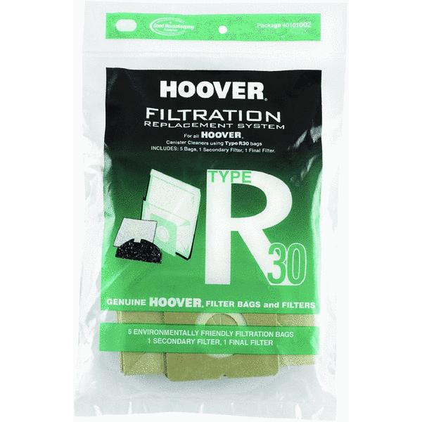Hoover R30 Filtration Replacement Vacuum Bag
