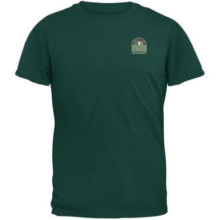 St. Patricks Day - O'Reilly's Irish Pub Barkeep Forest Adult T-Shirt