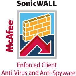 SONICWALL 01-SSC-2740 SonicWALL Enforced Client Anti-Virus & Anti-Spyware - McAfee (10