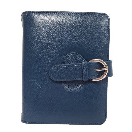SEAICH Ava Leather Compact Binder