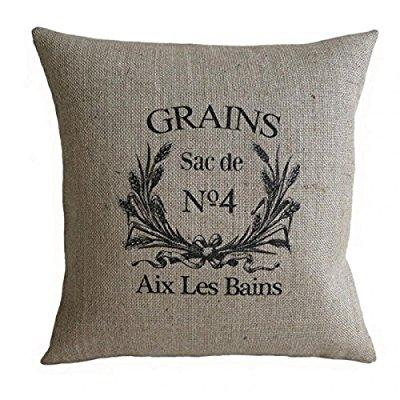grain sack pillows from walmart