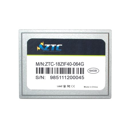 64GB ZTC Cyclone 40-pin ZIF 1.8-inch PATA SSD Enhanced Solid State Drive -