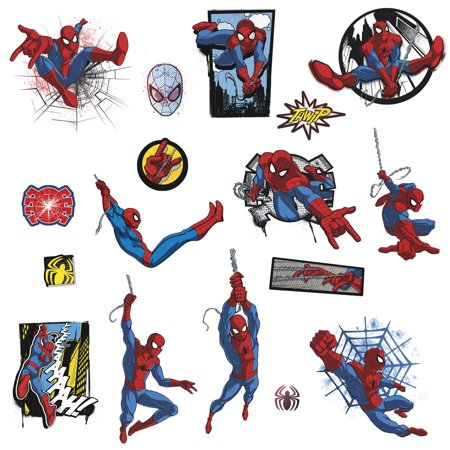 Marvel ULTIMATE SPIDER-MAN COMIC Wall Decals Superhero Spider Man - Spiderman Wall Decal