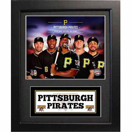 MLB 11x14 Deluxe Photo Frame, Pittsburgh Pirates All Time Greats (Pirate Picture Frame)