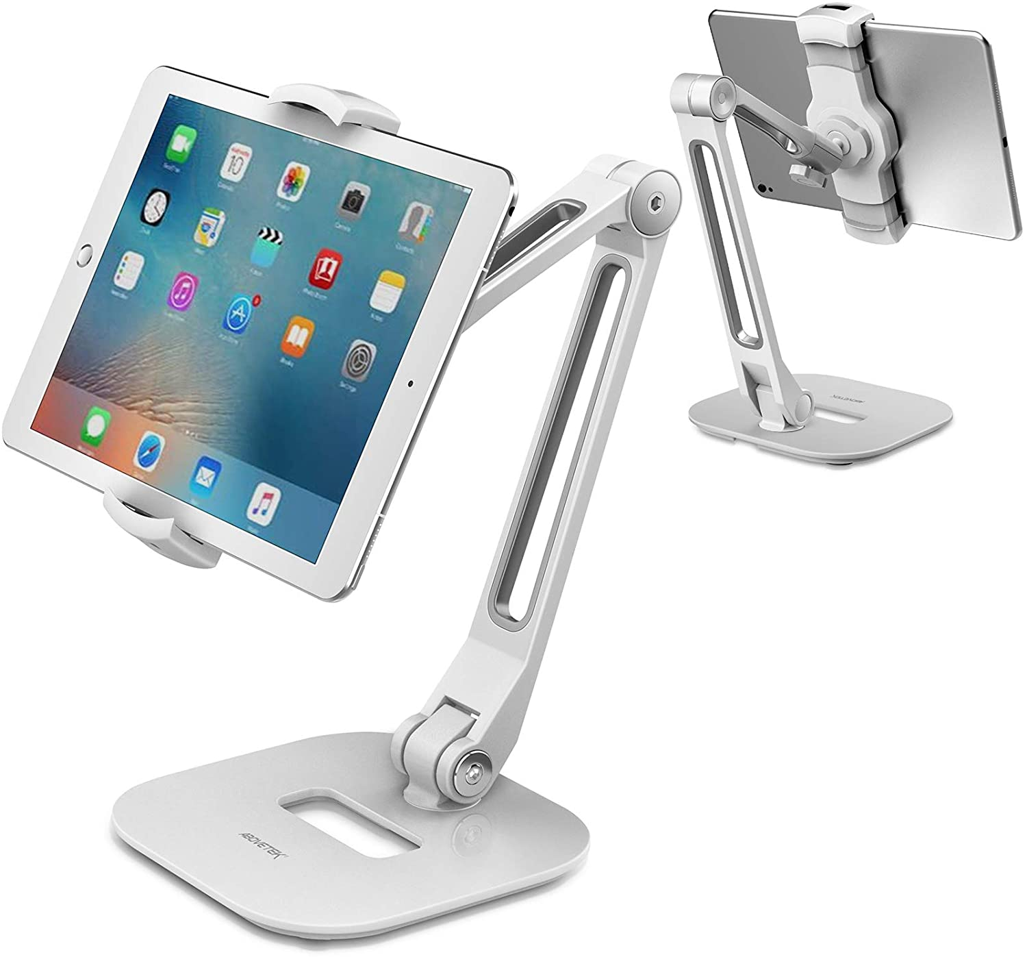 Made of ABS and Sturdy Aluminum Alloy YIKA Cell Phone Stand Desk Phone Stand Compatible with Phones//Kindle//Tablet//iPhone//Switch 4-9.7 Phone Stand Holder Cradle for Desktop