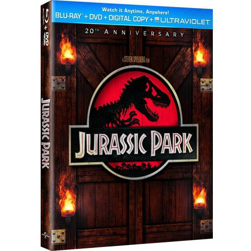 Jurassic Park (Blu-ray + DVD + Digital Copy With UltraViolet) (With INSTAWATCH)
