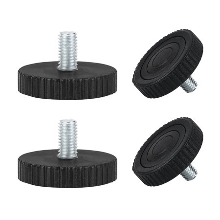 M8 x 15 x 40mm Leveling Feet Adjustable Leveler for House Cabinet Leg 4pcs - image 7 of 7