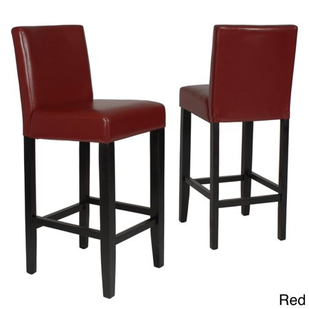 Swell Roundhilll Furniture Clay Alder Home Humboldt 29 Inch Faux Leather Bar Height Barstool Set Of 2 Pdpeps Interior Chair Design Pdpepsorg