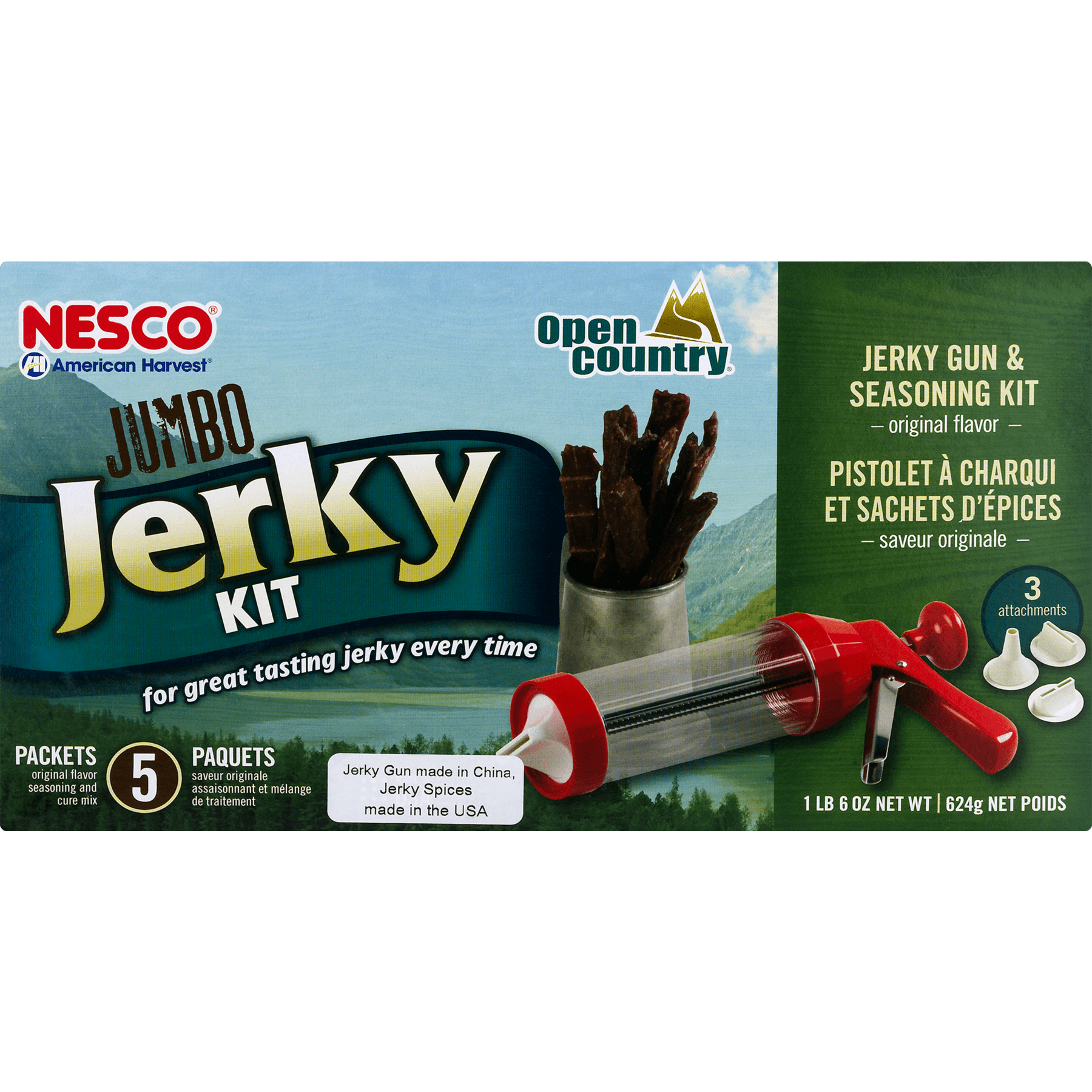 NESCO BJX-5 Red Jerky Works Jumbo Kit