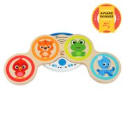 Baby Einstein Magic Touch Drums Wooden Musical Toy, Ages 6 months +
