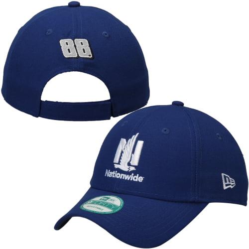 Dale Earnhardt Jr. New Era Nationwide Driver M20 9TWENTY Adjustable Hat - Royal - OSFA