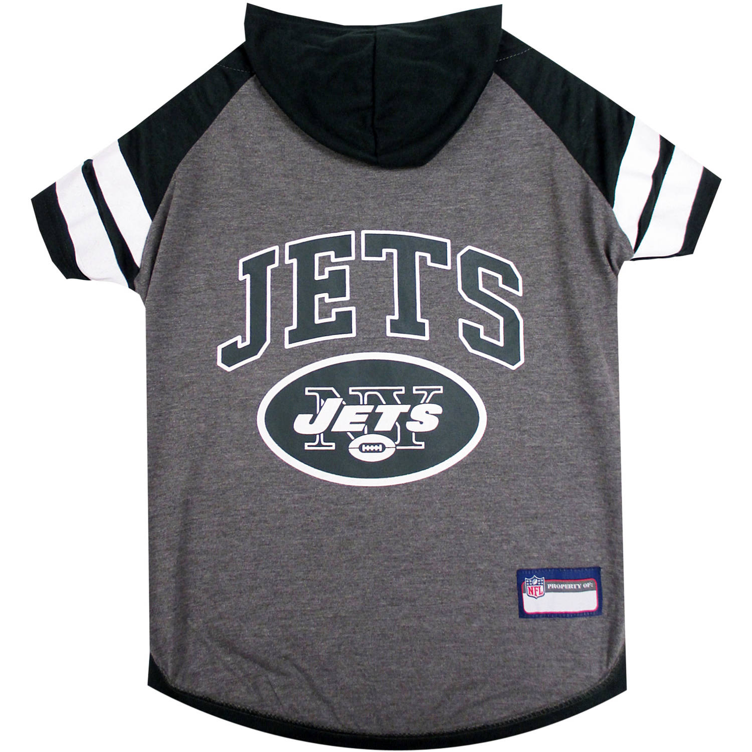 Pets First NFL New York Jets Pet Hoodie Tee Shirt