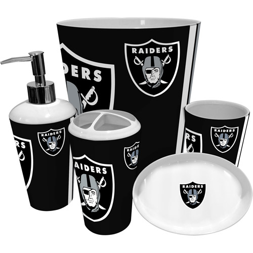 Nfl Oakland Raiders Shower Curtain 1