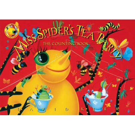 Miss Spiders Tea Party The Counting Book (Board Book) - Spider Halloween Book