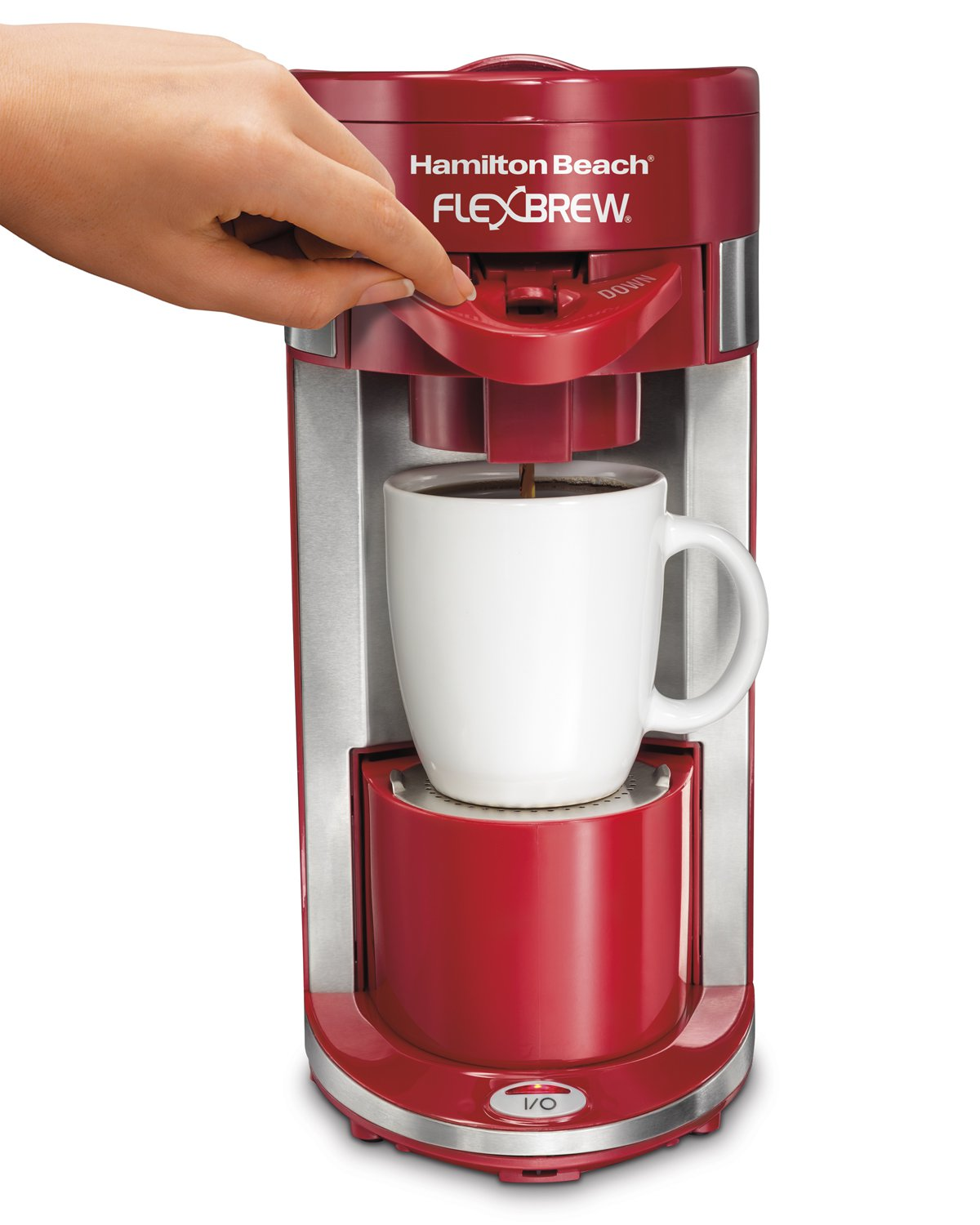 Hamilton Beach 49962 Flexbrew Grounds Single Serve Pod Coffee