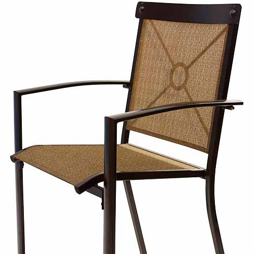 Mainstays Palmerton Landing Sling Bar Chair Set Of 4