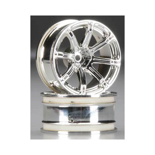 3302 Work Emotion XC8 Wheel 26mm 9mm Offset Chrome Multi-Colored