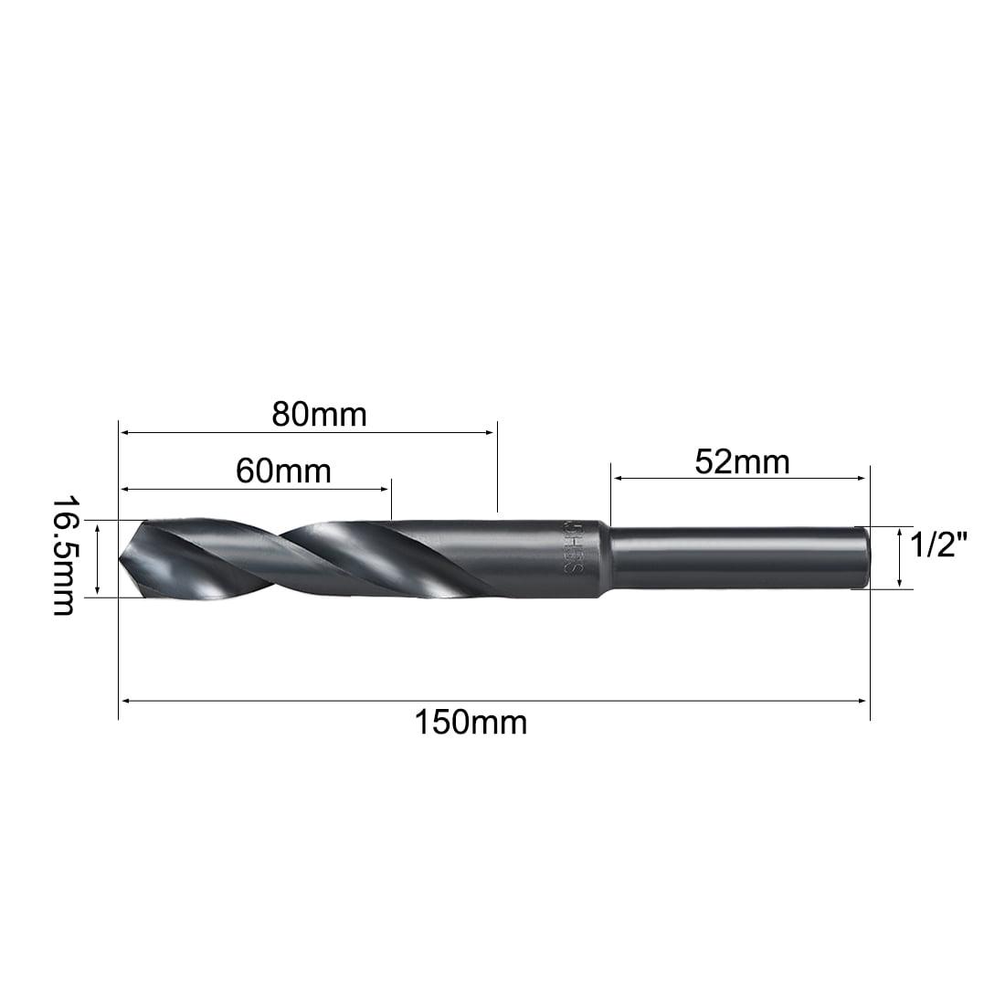 "1/2"" Straight Shank 16.5mm Drill Bit HSS 6542 - image 3 of 4"