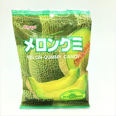 Japanese Kasugai Gummy Candy -Melon 102 g Kasugai Mango Gummy