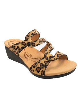 Women's Revere Comfort Shoes Sofia Wedge Sandal