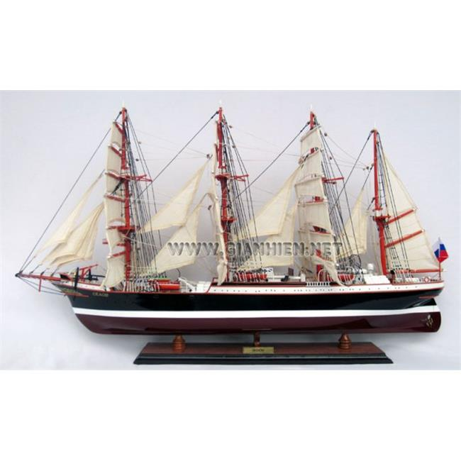 Gia Nhien TS0089P-80 Sedov Wooden Model Tall Ship by Gia Nhien