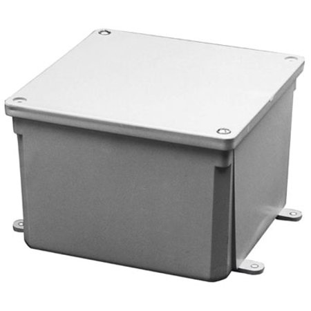 Submersible Junction Box (Thomas & Betts E989NCAR 8X8X4 PVC JUNCTION BOX )