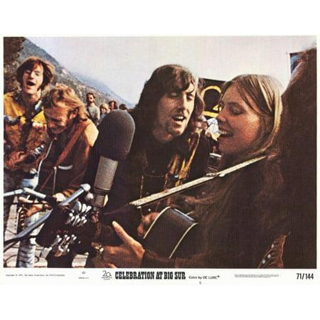 Celebration At Big Sur  1971  11X14 Movie Poster