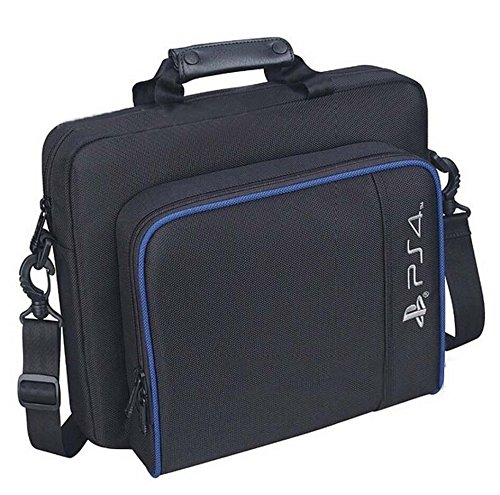 FUNKO INC. New Travel Storage Carry Case Protective Shoulder Bag Handbag for PlayStation 4 System Console Carrying Bag and Accessories