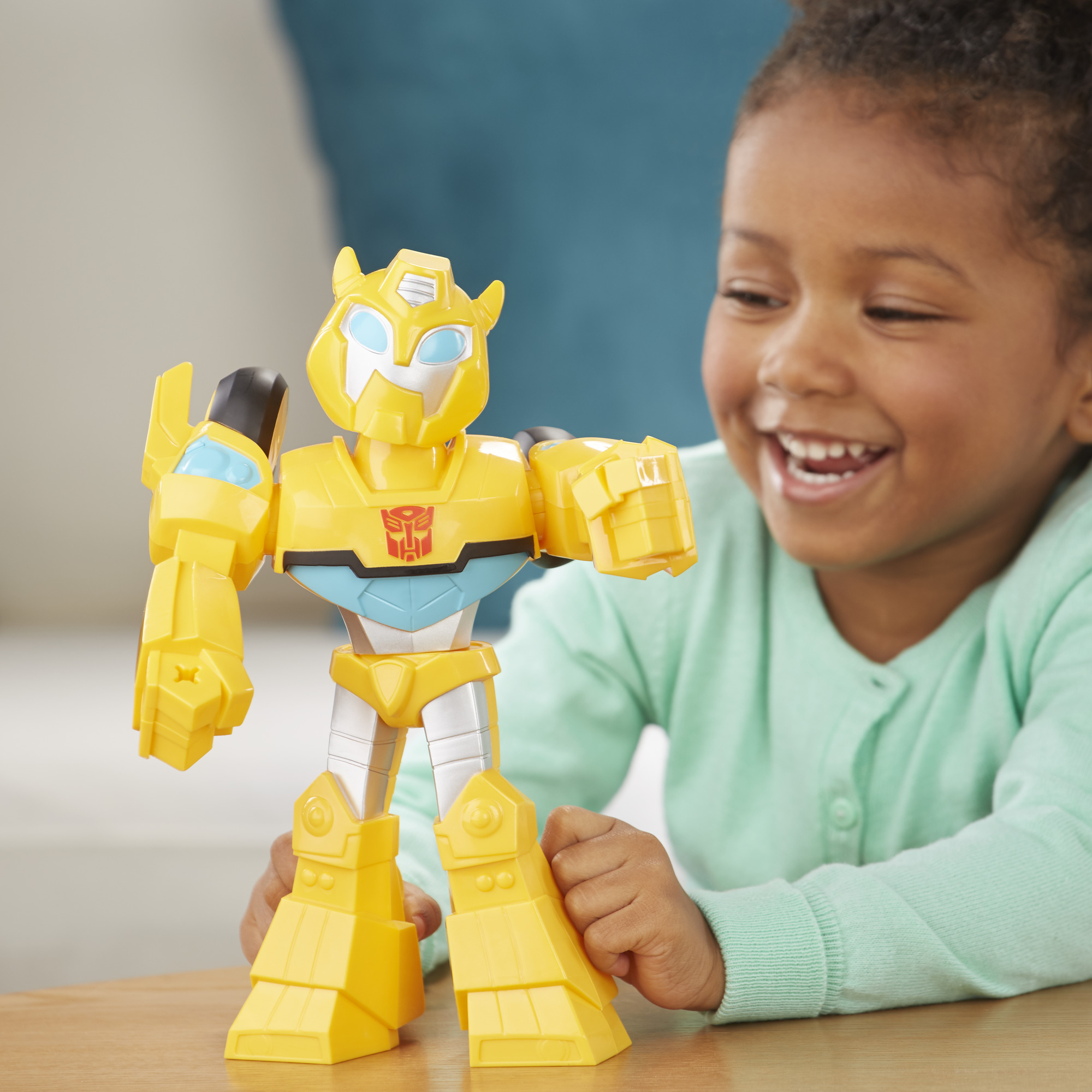 Transformers BUMBLEBEE-Rescue Bots MEGA potente-BNISB