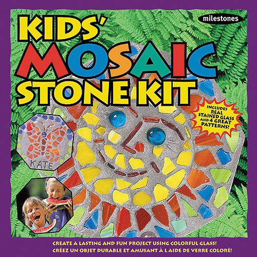 Milestones Kids' Mosaic Stepping-Stone Kit