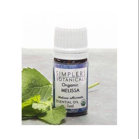 Essential Oil Melissa Organic Simplers Botanicals 1 ml Liqui