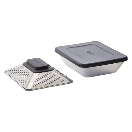 Joseph Joseph Prism Box Grater with Container and Lid - Gray