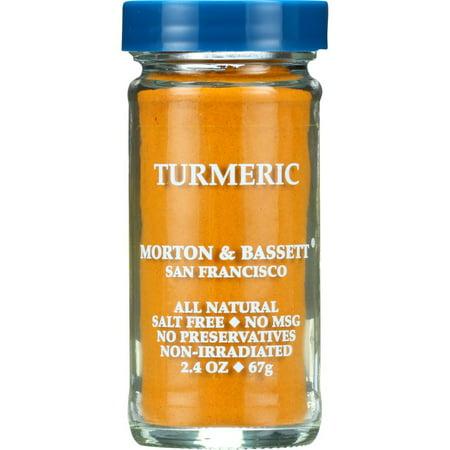 Morton & Bassett Spices Turmeric, 2.4 Oz (Pack Of