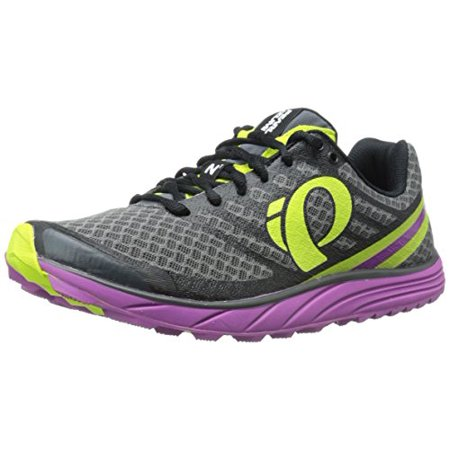Pearl Izumi Women's W EM Trail N 1 V2 Running Shoe, Shadow Grey/Meadow Mauve, 5.5 B (Pearl Izumi Trail Shoes)