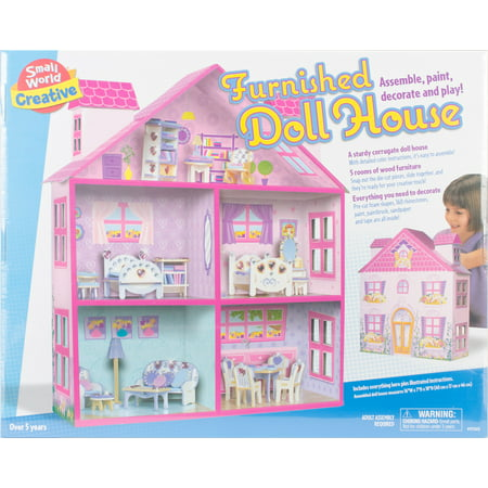 Furnished Dollhouses (Furnished Doll House-)