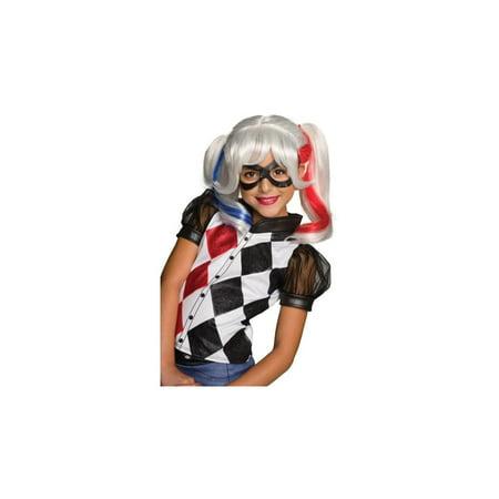 Harley Quinn Suicide Squad Girls Wig - Wig Harley Quinn