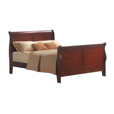 Homelegance Cherry Sleigh Bed (Bowery Hill Queen Sleigh Bed in)