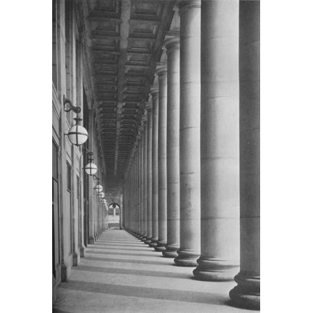Union Canal - Portico facing Canal Street, Chicago Union Station, Illinois, 1926 Print Wall Art