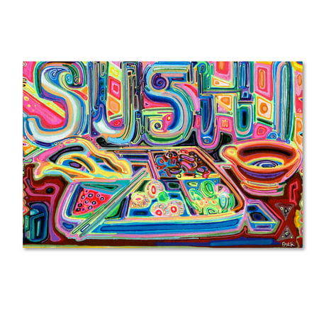 Trademark Fine Art 'Sushi' Canvas Art by Josh Byer