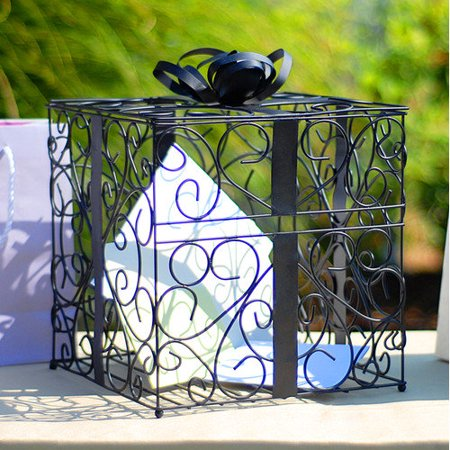 Cathy's Concepts Reception Gift Card Holder, Black