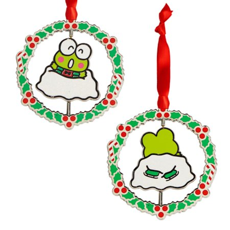Universal Studios Hello Kitty Keroppi Spinner Ornament New with Tags ()