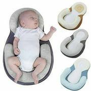 Soft Newborn Baby Pillow Infant Cushion Prevent Flat Head Sleep Nest Mattress