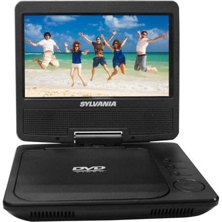 sylvania 7 portable dvd player. Black Bedroom Furniture Sets. Home Design Ideas