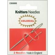 """Knitters Needles-2.75"""" & 1.9"""" 2/Pkg"""