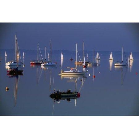Posterazzi DPI1821572 Strangford Lough Co Down Ireland - Sailboats