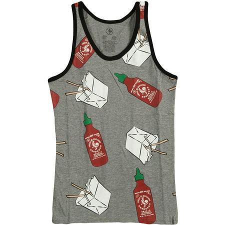 Sriracha Men's  Mens Tank Grey (Sriracha T Shirt)
